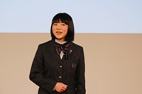 優秀賞 (ジュニア部門)熊坂りり花さん