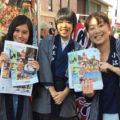 第1回英語スピーチコンテスト受賞者たちが、「2016川越まつり」で英語観光ボランティアとして活躍しました!